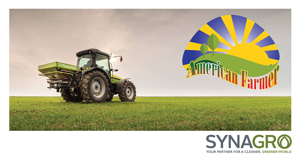 Synagro to Be Featured on Upcoming Episode of DMG Productions' American Farmer