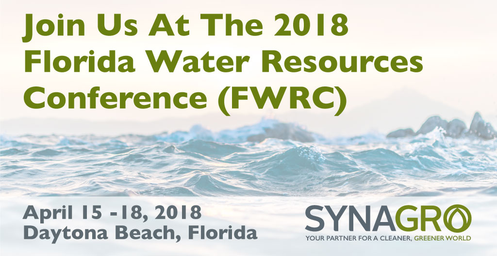 Synagro to Highlight Products and Services at 2018 Florida Water Resources Conference