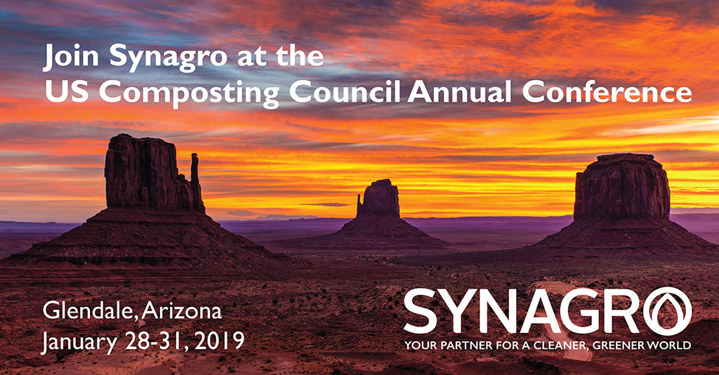 Synagro to Highlight AllGro® Compost and American Farmer Episode at COMPOST2019