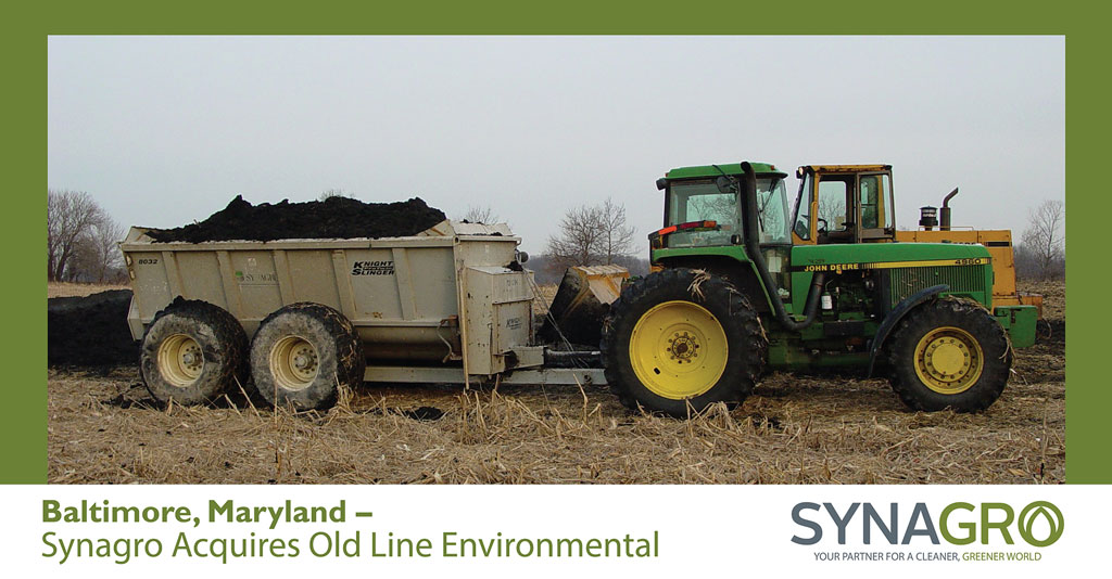 Synagro Acquires Old Line Environmental