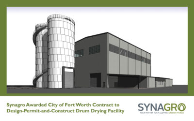 Synagro Awarded City of Fort Worth Contract to Design-Permit-and-Construct Drum Drying Facility