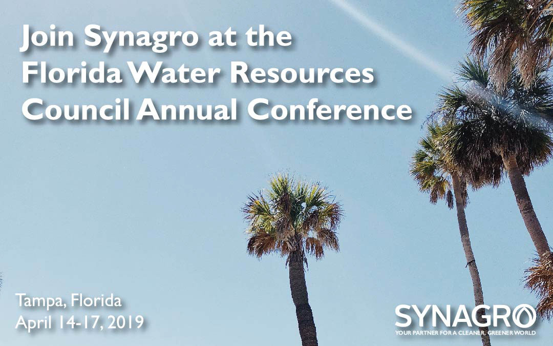 Synagro to Highlight Products and Services at 2019 Florida Water Resources Conference