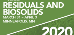 Water Environment Federation Residuals and Biosolids 2020 – Booth 500