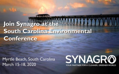 Synagro to Highlight Services at 2020 South Carolina Environmental Conference