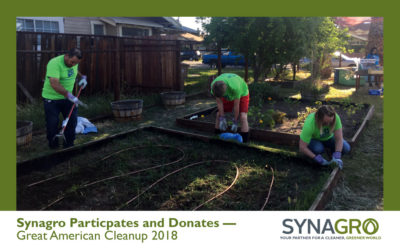 Synagro Makes Donation to Help Keep Bakersfield Beautiful