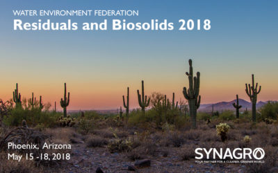 Synagro to Highlight Services at Residuals and Biosolids 2018 Conference