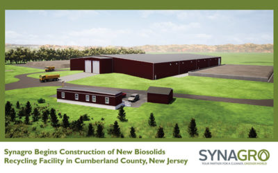 Synagro Begins Construction of New Biosolids Recycling Facility in Cumberland County, New Jersey